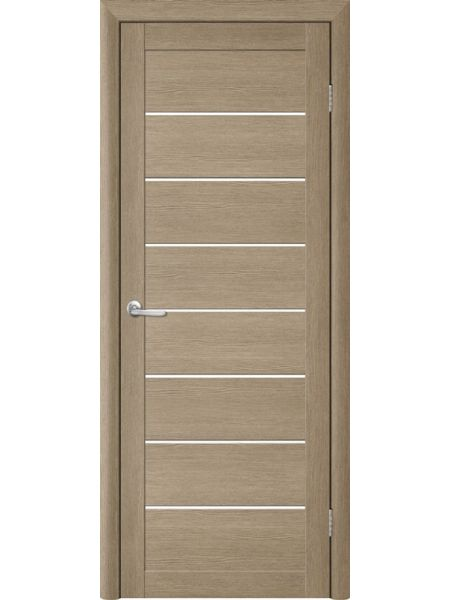 Межкомнатная дверь Trend doors ПО T-1 (Лиственница латте - Белый акрилат)