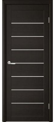 Trend doors ПО T-1 (Лиственница темная венге - Белый акрилат)