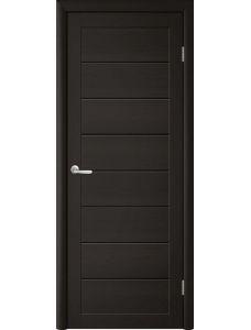 Trend doors ПО T-1 (Лиственница темная - Черный акрилат)
