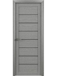 Trend doors ПО T-1 (Ясень дымчатый - Черный акрилат)