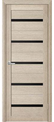 Двери Trend doors ПО T-2 (Акация кремовая - Черный акрилат)