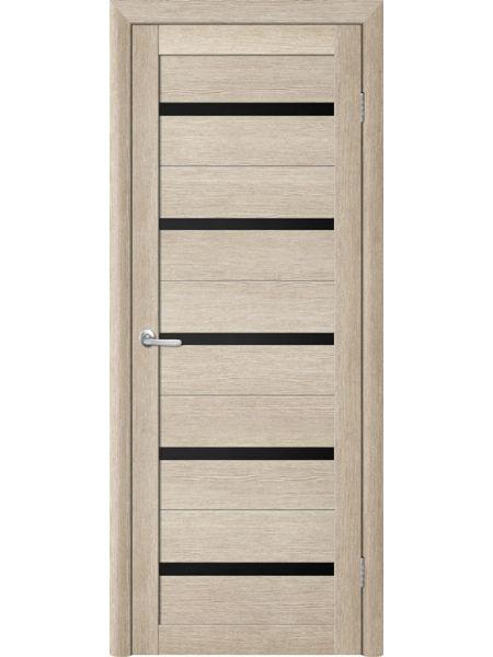 Межкомнатная дверь Trend doors ПО T-2 (Акация кремовая - Черный акрилат)