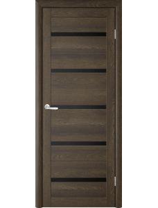 Двери Trend doors ПО T-2 (Дуб оксфорд - Черный акрилат)