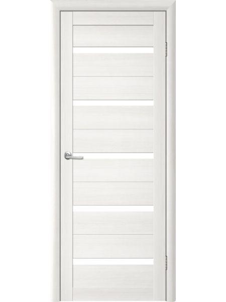 Межкомнатная дверь Trend doors ПО T-2 (Лиственница белая - Белый акрилат)