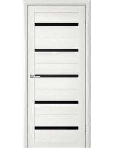 Trend doors ПО T-2 (Лиственница белая - Черный акрилат)