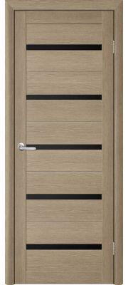 Trend doors ПО T-2 (Лиственница латте - Черный акрилат)