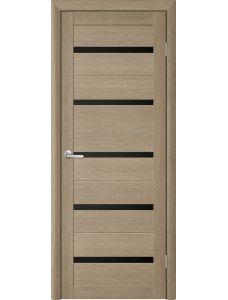 Двери Trend doors ПО T-2 (Лиственница латте - Черный акрилат)