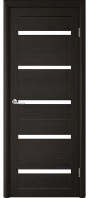 Двери Trend doors ПО T-2 (Лиственница темная венге - Белый акрилат)