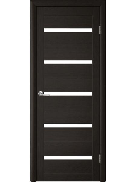 Межкомнатная дверь Trend doors ПО T-2 (Лиственница темная - Белый акрилат)