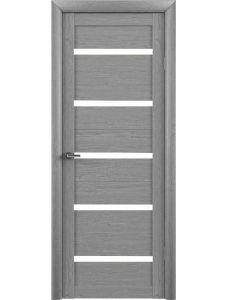 Двери Trend doors ПО T-2 (Ясень дымчатый серый - Белый акрилат)