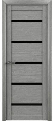 Trend doors ПО T-2 (Ясень дымчатый - Черный акрилат)