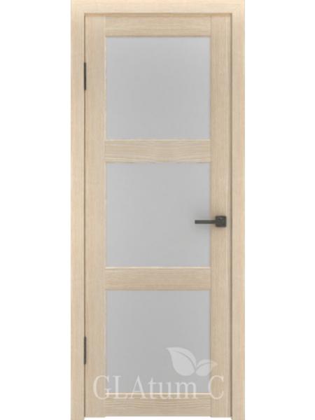 Межкомнатная дверь ВФД GL Atum C4 (Капучино)