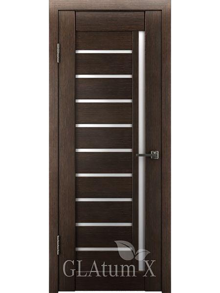 Межкомнатная дверь ВФД GL Atum X11 (Венге)