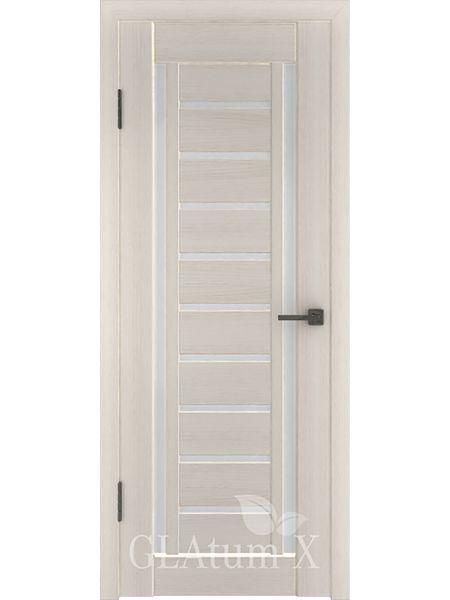 Межкомнатная дверь ВФД GL Atum X13 (Беленый дуб)