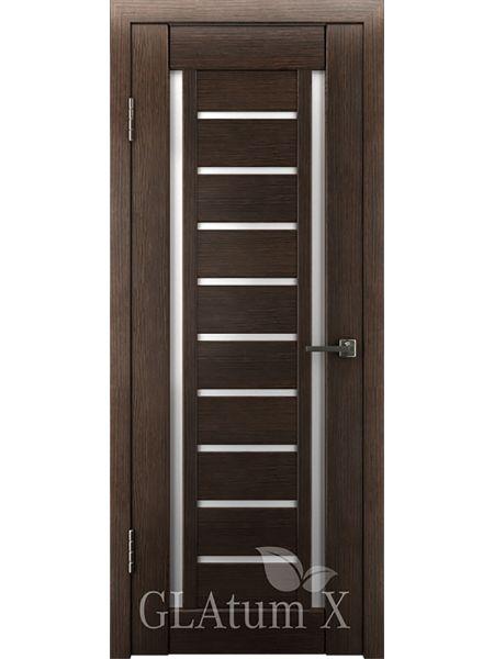 Межкомнатная дверь ВФД GL Atum X13 (Венге)