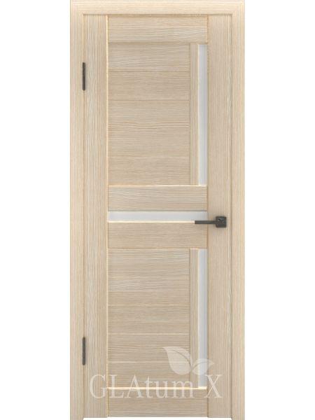 Межкомнатная дверь ВФД GL Atum X16 (Капучино)