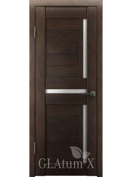 Межкомнатная дверь ВФД GL Atum X16 (Венге)