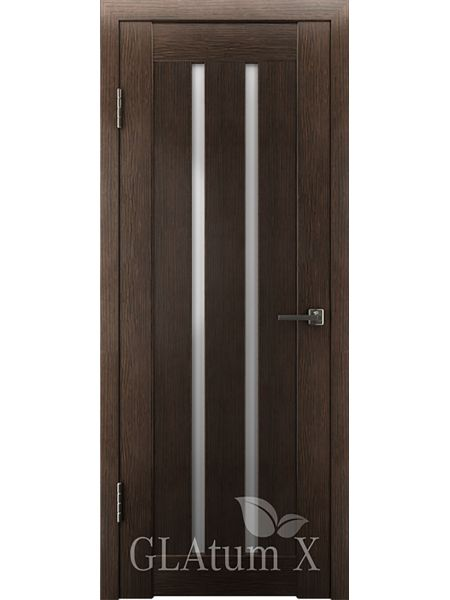 Межкомнатная дверь ВФД GL Atum X2 (Венге)