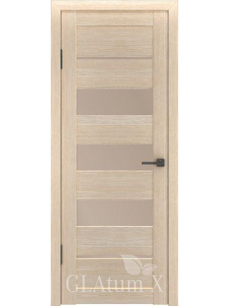 Межкомнатная дверь ВФД GL Atum X22 (Капучино)