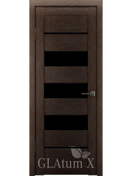 Межкомнатная дверь ВФД GL Atum X22 (Венге)