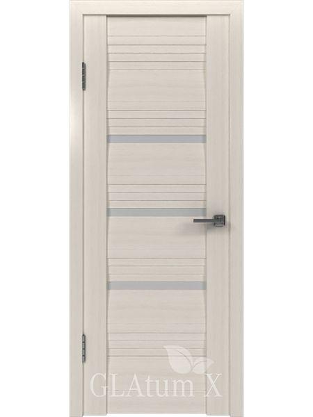 Межкомнатная дверь ВФД GL Atum X31 (Беленый дуб)