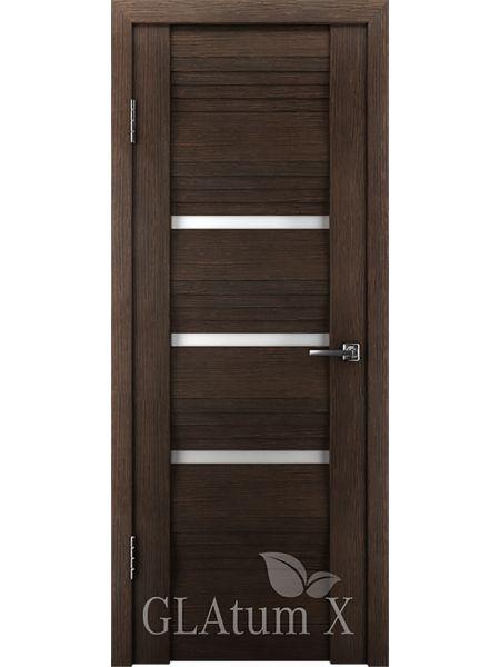Межкомнатная дверь ВФД GL Atum X31 (Венге)