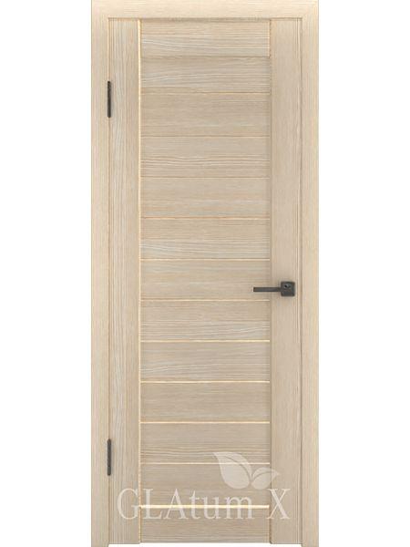 Межкомнатная дверь ВФД GL Atum X6 (Капучино)