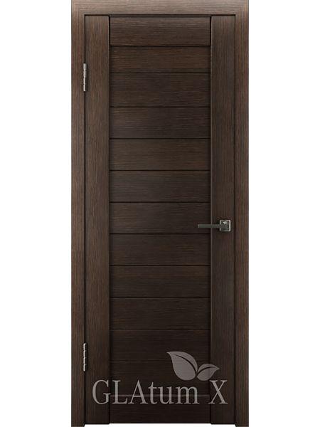 Межкомнатная дверь ВФД GL Atum X6 (Венге)
