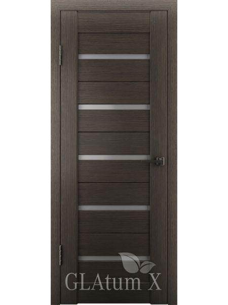 Межкомнатная дверь ВФД GL Atum X7 (Венге)