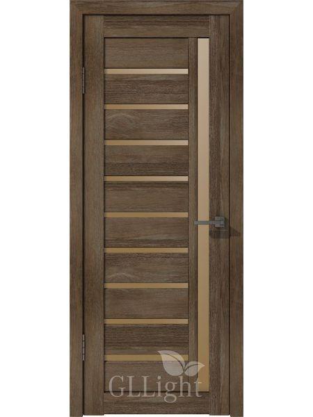 Межкомнатная дверь ВФД GL Light 11 (Дуб мокко)