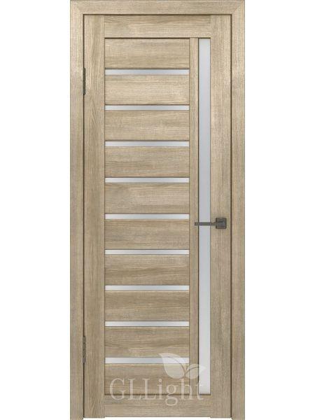 Межкомнатная дверь ВФД GL Light 11 (Дуб трюфель)