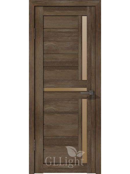 Межкомнатная дверь ВФД GL Light 16 (Дуб мокко)