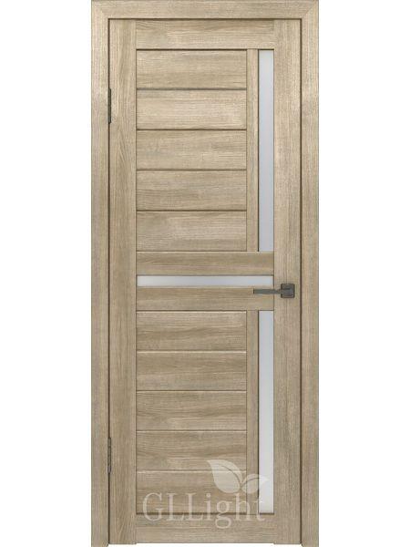 Межкомнатная дверь ВФД GL Light 16 (Дуб трюфель)
