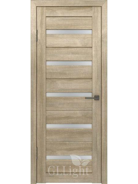 Межкомнатная дверь ВФД GL Light 7 (Дуб трюфель)