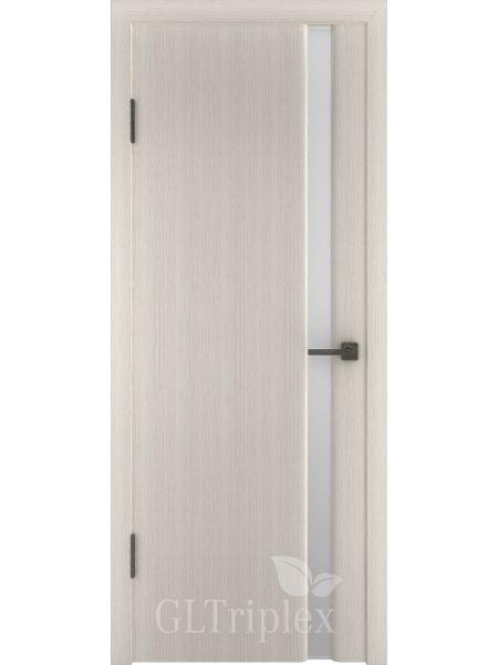 Межкомнатная дверь ВФД GL Triplex 1 (Капучино - Стекло триплекс)