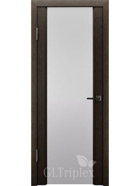 Межкомнатная дверь ВФД GL Triplex 2 (Венге - Стекло триплекс)