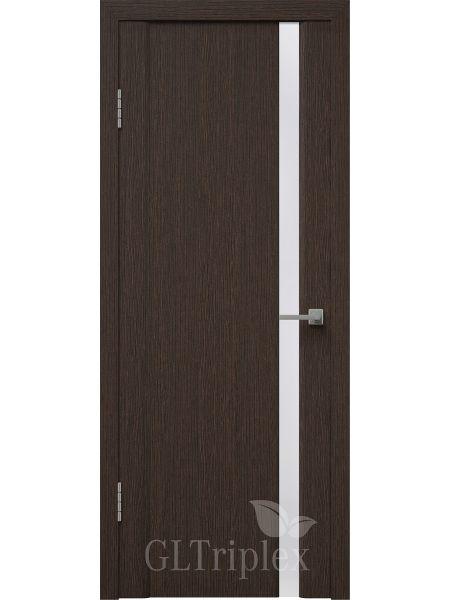 Межкомнатная дверь ВФД GL Triplex 5 (Венге - Стекло триплекс)