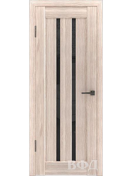 Межкомнатная дверь ВФД LINE 2 (Капучино - Ультра черное)