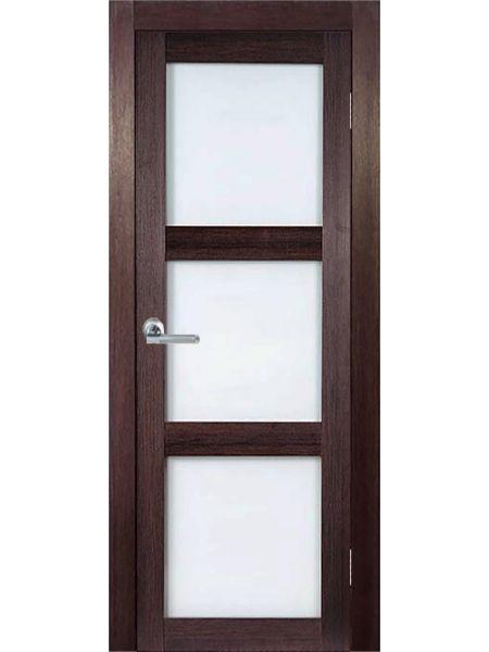 Межкомнатная дверь ВФД Сицилия 24 (Венге)