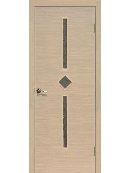 Межкомнатная дверь ПО Диадема (Беленый дуб)