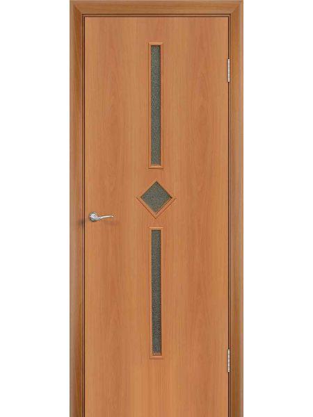 Межкомнатная дверь ПО Диадема (Миланский орех)