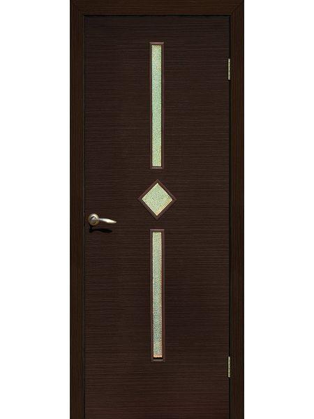 Межкомнатная дверь ПО Диадема (Венге)
