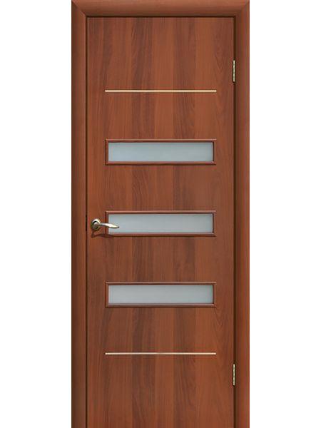 Межкомнатная дверь ПО Капелла (Итальянский орех)