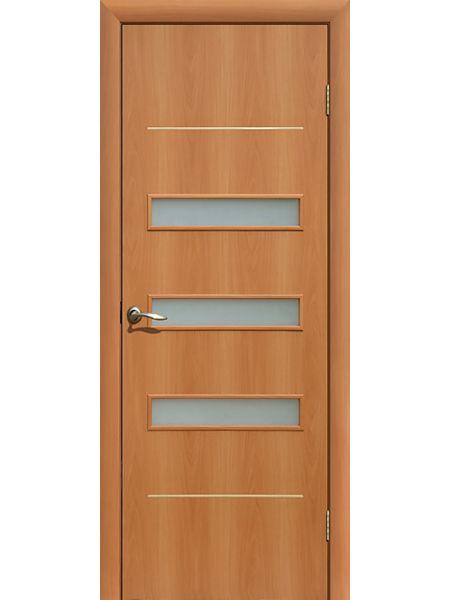 Межкомнатная дверь ПО Капелла (Миланский орех)