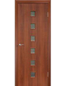 Дверь ПО Квадрат (Итальянский орех)