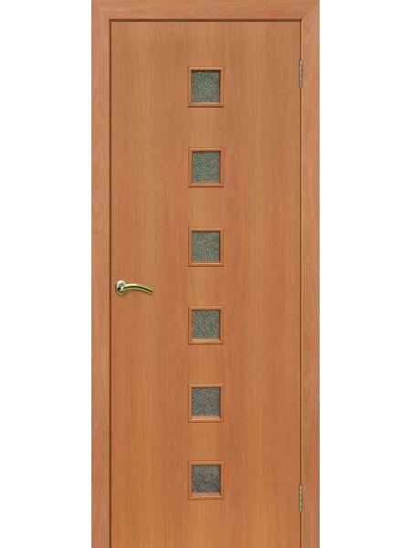 Межкомнатная дверь ПО Квадрат (Миланский орех)