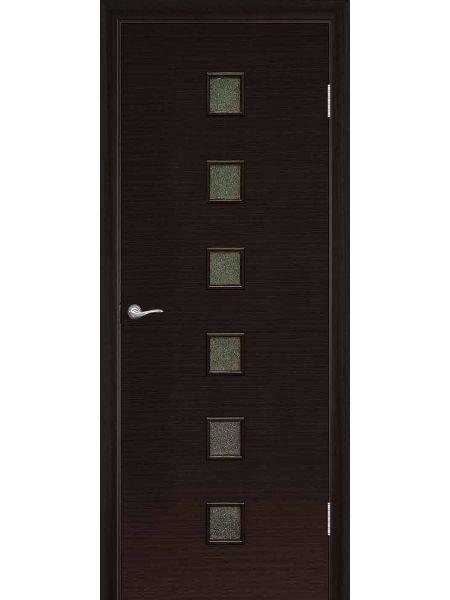 Межкомнатная дверь ПО Квадрат (Венге)