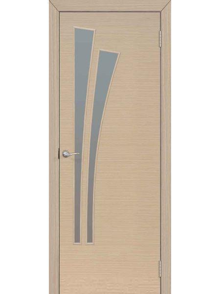Межкомнатная дверь ПО Лагуна (Беленый дуб)