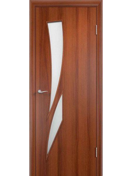 Межкомнатная дверь ПО Стрелиция (Итальянский орех)