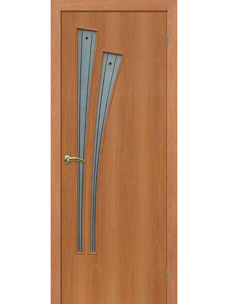 Межкомнатная дверь ПОФ Лагуна (Миланский орех)